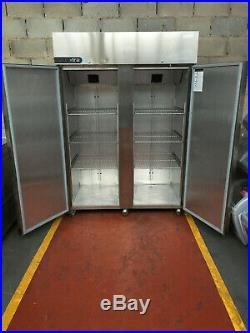 Foster XTRA Double Door Stainless Steel Large Commercial Freezer