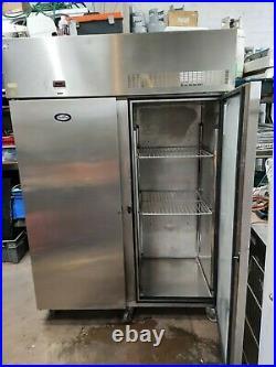 Foster double door commercial freezer