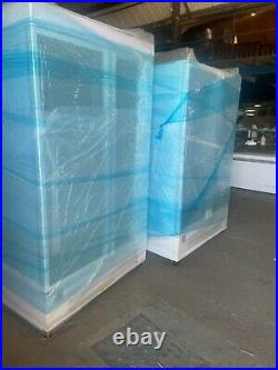 G7 Commercial Double Door Display Freezer (Glass Door)