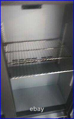 GAMKO Bottle Cooler double door Fridge silver 2025 commercial used working