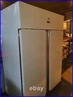 Gastroline Commercial Stainless Steel Upright Double Door Fridge Chiller VGC