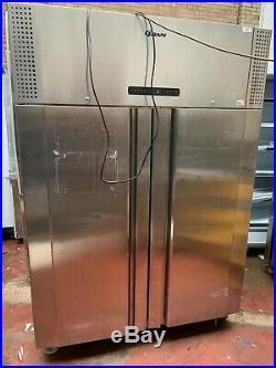 Gran Stainless Steel Double Door Commercial Catering Fridge Chiller
