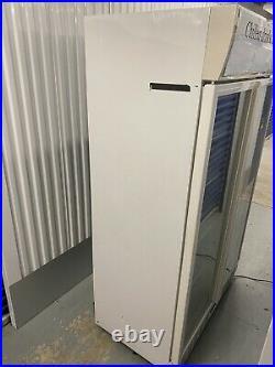 Husky Commercial Fridge Double Door Chiller Upright Double Glass Door Cooler
