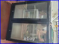 Husky fridge Double Door Commercial