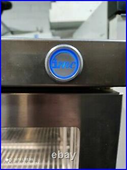 IMC under counter commercial double door glass fridge bottle cooler