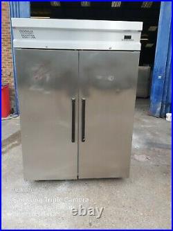 INOMAK upright double door fridge commercial 2 door restaurant chiller +1/+4