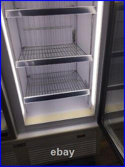 ISA commercial freezer Double Glass Door fully working order Shop