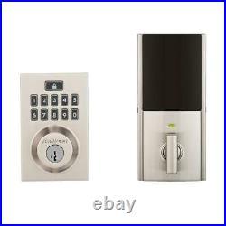 Kwikset SMARTCODE 914 Touchpad Deadbolt Z-Wave Smartkey Modern Alexa Ring Wink