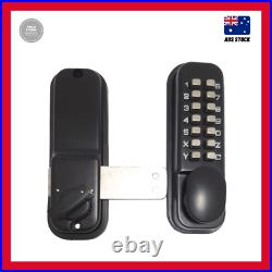 Lane Black Digital Gate Lock Suits Gates And Doors 33Mm To 60Mm Thick