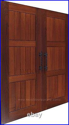 Large Black wrought iron entrance door handles 1Pair (2handles) Brand New 2sizes