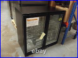 Lec Commercial BC9097K LED Double door Bottle Cooler hinged high efficiency