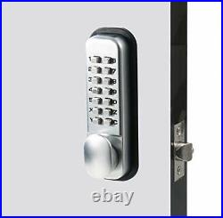 MUTEX MX920 Mechanical Combination Lock Dual Keypad 14 Digit Keyless Entry Ga