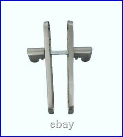 Modern Latch Interior Door Handle Satin Finish Arched Handles 1-15 Pairs (d5)