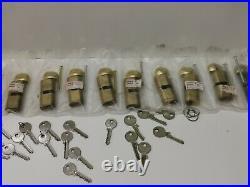 Multi set TIGRIS 70mm Euro Cylinder Door Barrel Locks ideal for large property