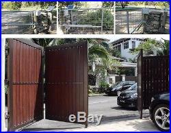 NSEE EM3 Double Operator Dual Swing Gate Door Opener with 22 Watt Solar Panel