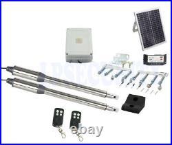 NSEE PKM-C01-6 500KG/1200LB Double Opener Solar Swing Gate Door Operator Steel