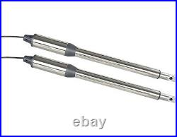 NSEE PKM-C01-8 500KG/1200LBS Double Opener Solar Swing Gate Door Operator Steel