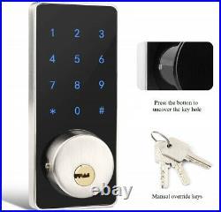 New Weatherproof Code MIFARE RFID Wi-Fi Keyless Access Deadbolt Smart Door Lock