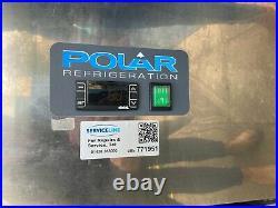Polar Commercial Upright Double Door Freezer