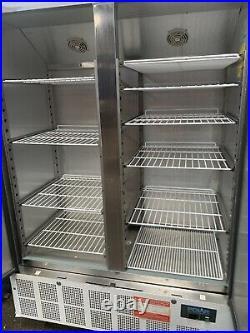 Polar Double Door Slimline Fridge 960 Litre GD879 Catering Commercial Fridge