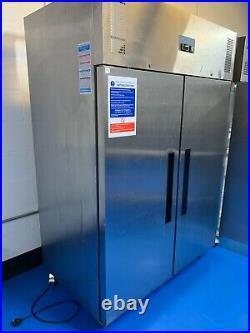 Polar Double Door Stainless Steel 1200 ltr Commercial Refrigerator Model G594