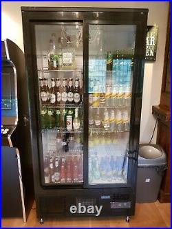Polar GJ448 Commercial double door bar pub fridge