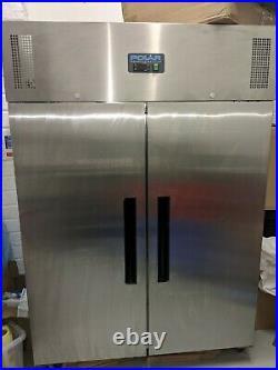 Polar Refrigeration Upright Double Door Commercial Catering Fridge