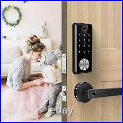 Ruveno Smart Fingerprint Lock with Keypads, Keyless Entry Door Lock, Electronic