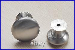 Satin Stainless Steel Kitchen Cabinet Hardware Drawer Handles Cupboard Knobs