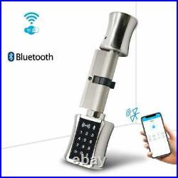 Smart Cylinder Lock With TTLock APP Keyless Electronic Door Lock 60/40T BT WiFi
