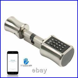 Smart Cylinder Lock With TTLock APP Keyless Electronic Door Lock 75/40T BT