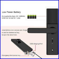 Smart Door Lock WIFI smart lock Fingerprint door lock Password Digital door lock