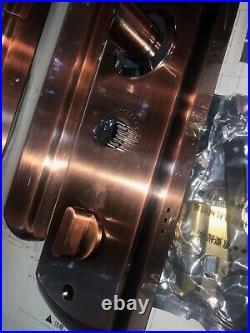 Smart Lock Front Door Fingerprint Slide Password Pad Rose Gold Best Price Fob