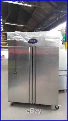 Stainless Steel Double Door Commercial Catering Restaurant Freezer Warranty