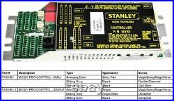 Stanley Access Dual Control MC521 PRO 185101 duraglide magicforce automatic door