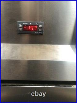 Sterling Pro Upright Commercial Double Door Stainless Steel Freezer Catering