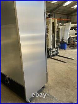 True T 49G FGD01 Stainless Steel Double Door Commercial Display Fridge