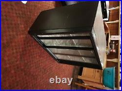 Under counter commercial double sliding door bottle/fridge/cooler