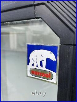 Upright Double Glass Door Display Fridge Commercial Catering Shop Drinks