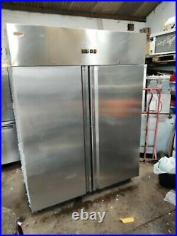 Valera double door commercial freezer stainless steel takeaway restaurant