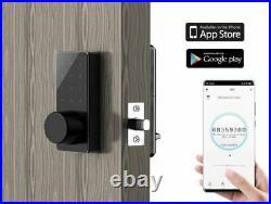 Weatherproof Keypad MIFARE WiFi Battery Electronic Smart Deadbolt Door Lock
