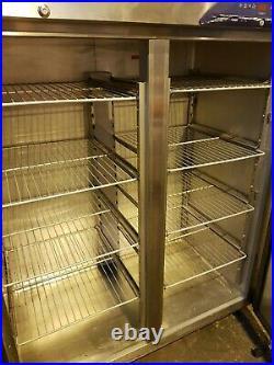 Williams Commercial Stainless Steel Large Upright Double Door Fridge + Shelves