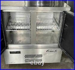 Williams Double Door commercial Pizza Prep Freezer-/Prep Counter Freezer- S/S