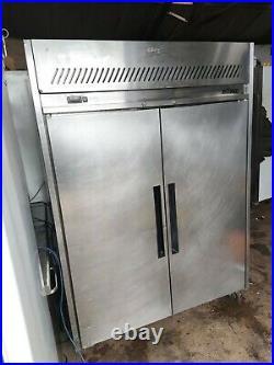 Williams double door commercial fridge stainless steel takeaway restaurant