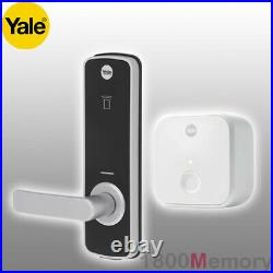 Yale Unity Entrance Lock with Connect Bridge Digital Deadlocking Remote Access